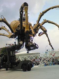 クロカル超人が行く Y150 <br />  巨大クモ