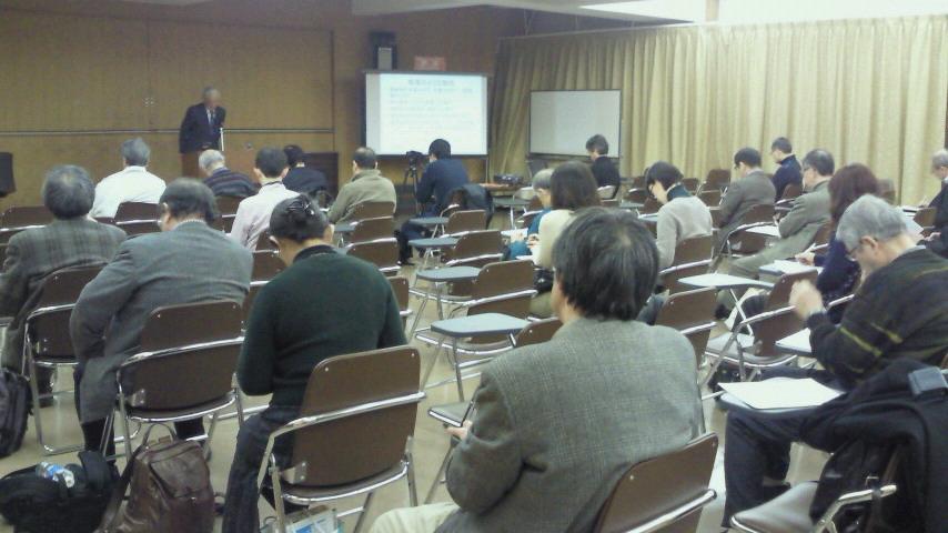 クロカル超人が行く池袋・豊島区民センターでの「東日本大災害・TPP<br />  問題と国土環境問題」の講演会